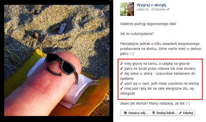 content marketing facebook
